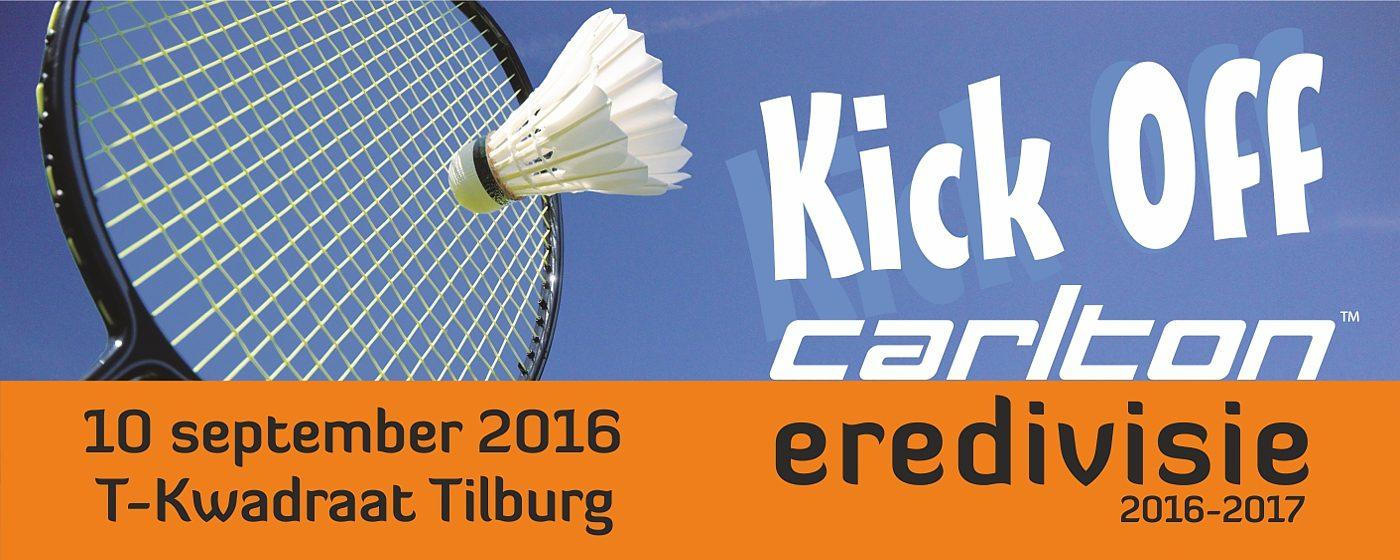 Kick-off Carlton Eredivisie